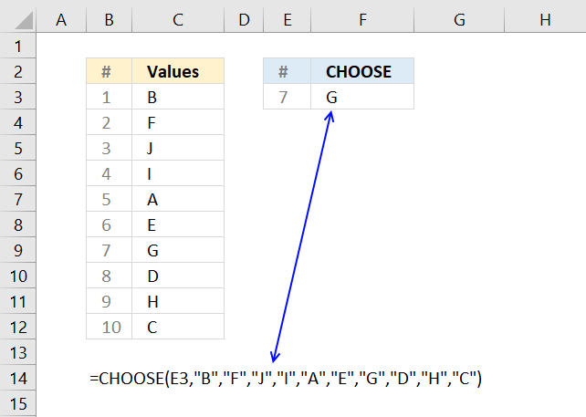 how to randomly choose valuen from a range