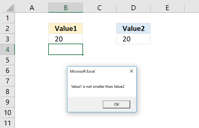 How to use the IF THEN ELSE ELSEIF END IF statement [VBA]