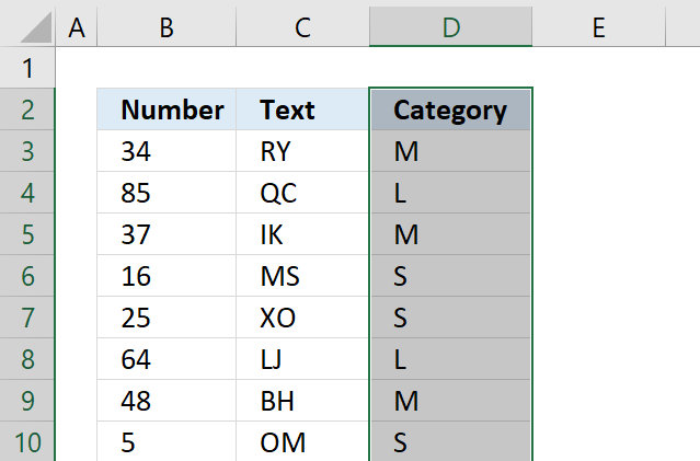how to find blank cells