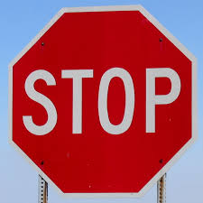 us stop sign